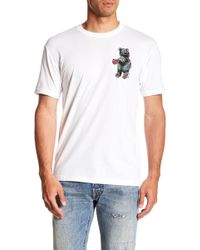Riot Society - Tropical Palms Bear Crew Neck Tee - Lyst