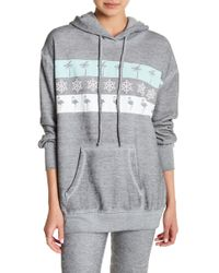 Wildfox - On Holiday Relax Hoodie - Lyst