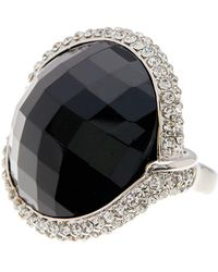 Ariella Collection - Round Cocktail Ring - Lyst