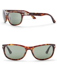 Persol - Rectangle 63mm Sunglasses - Lyst