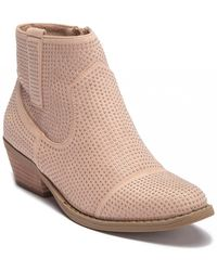 Report - Dixie Studded Ankle Bootie - Lyst