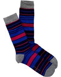 Ted Baker - Organic Stripe Socks - Lyst