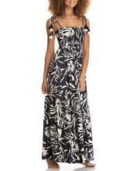 Maaji Bewitched Maxi Cover-up Dress - Black