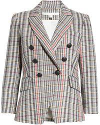 Veronica Beard Empire Tweed Dickey Jacket - Multicolor