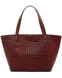 Liebeskind Berlin - Soho Croco Embossed Collection Leather Soho Tote - Lyst