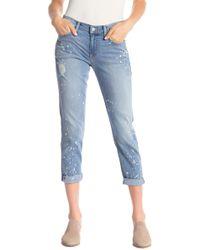Level 99 Sienna Tomboy Jeans - Blue