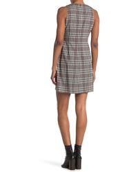 Theory Angled Dress - Gray