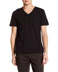 Theory Strato-gaskell V-neck T-shirt - Black