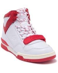Lacoste Missouri Mid Sneaker - Red
