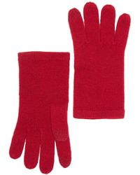 Phenix Cashmere Knit Gloves In 600red At Nordstrom Rack