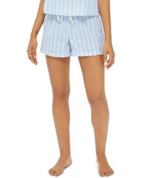 TOPSHOP - Stripe Pajama Shorts - Lyst