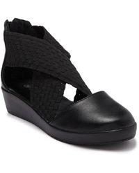Bernie Mev Adele Platform Sandal - Black