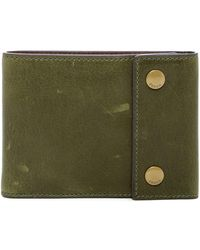 Fossil - Ethan Snap Billfold Leather Wallet - Lyst
