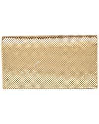 Whiting & Davis Travel Wallet - Metallic