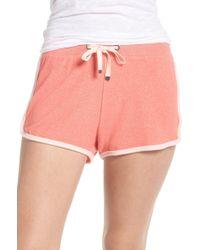Make + Model Bring It On Lounge Shorts - Pink