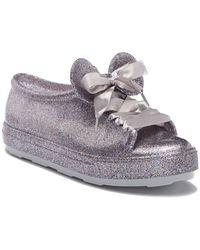 021d7ba1840 Vans  Classic - Disney Belle  Slip-On Sneaker in White - Lyst