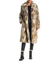 Nili Lotan Simon Oversized-collar Coat - Natural