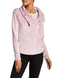 Bench Biker Funnel Neck Jacket - Pink