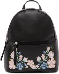 T-Shirt & Jeans - Floral Embroidered Backpack - Lyst
