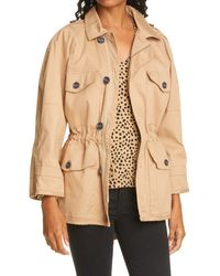 ATM Stretch Twill Army Jacket - Natural