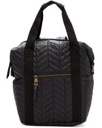 Madden Girl - Booker Quilted Backpack Tote - Lyst