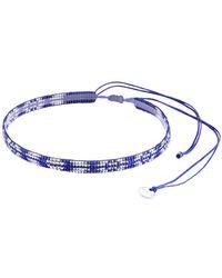 Mishky - Beaded Track Choker Necklace - Lyst