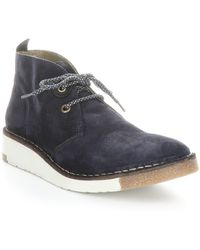 Fly London Swor Chukka Sneaker - Blue