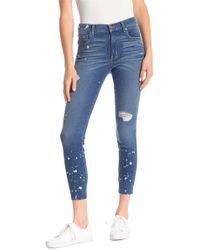 Level 99 - Janie High Rise Skinny Jeans - Lyst