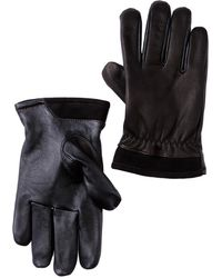 UGG - Faux Fur Lined Captain Pieced Leather Glove - Lyst