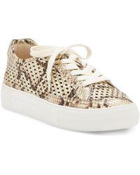 Vince Camuto Karshey Platform Sneaker - Natural