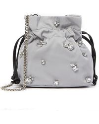 French Connection - Heather Mini Embellished Crossbody Bag - Lyst