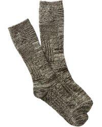 UGG - Patchwork Crew Socks - Lyst