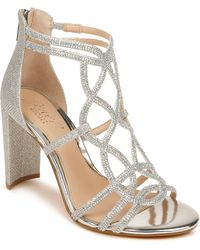 Badgley Mischka Filimena Glitter Sandal - Metallic