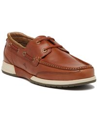 Tommy Bahama Ashore Leather Boat Shoe - Brown
