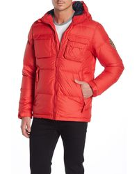 Helly Hansen Norse Hooded Down Jacket - Red