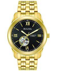 Bulova - Men's Mechanical Automatic Bracelet Watch, 42mm - Lyst