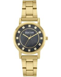 Kenneth Cole Reaction Women's Classic Crystal Bracelet Watch, 32.5mm - Metallic