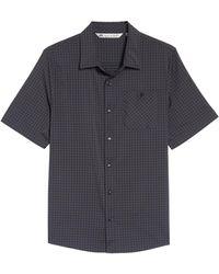 Travis Mathew - Banker Check Slim Fit Sport Shirt - Lyst