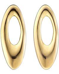 Uno De 50 - Orbit Oval Earrings - Lyst