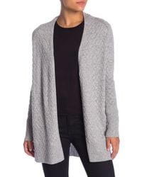 Kinross Cashmere - Cashmere Basketweave Cardigan - Lyst