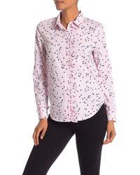 3267d9af4e7326 Equipment Floral Print-silk Shirt - Lyst