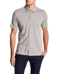Theory - Slim Fit Air Pique Sport Shirt - Lyst