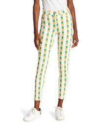 Pistola - Pineapple Print Skinny Jeans - Lyst