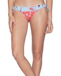 Maaji Loop Glimmer Mixed Print Bikini Bottoms - Multicolour