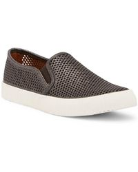 Frye - Camille Perforated Slip-on Trainer - Lyst