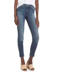 Mcguire - Newton High Waist Skinny Jeans - Lyst