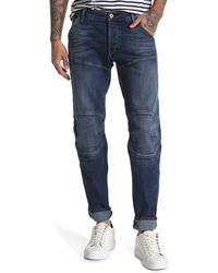 G-Star RAW 5620 Deconstructed Tapered Leg Jean - Blue