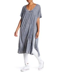 Michelle By Comune - Mineral Dye Tunic Dress - Lyst