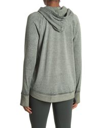 Threads For Thought Indra Burnout Hoodie - Grey