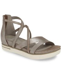Eileen Fisher Skip Strappy Platform Sandal - Multicolor